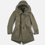 Мужская куртка парка Ten C Parka Olive фото- 0