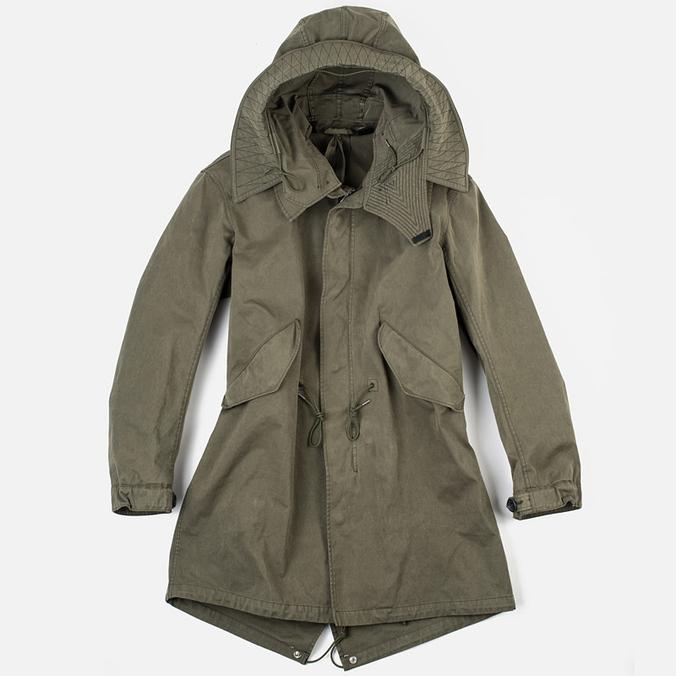 Мужская куртка парка Ten C Parka Olive