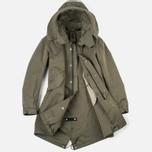 Мужская куртка парка Ten C Parka Olive фото- 1