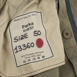 Мужская куртка парка Ten C Parka Olive фото- 7