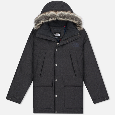 Мужская куртка парка The North Face Mountain Murdo Dark Grey