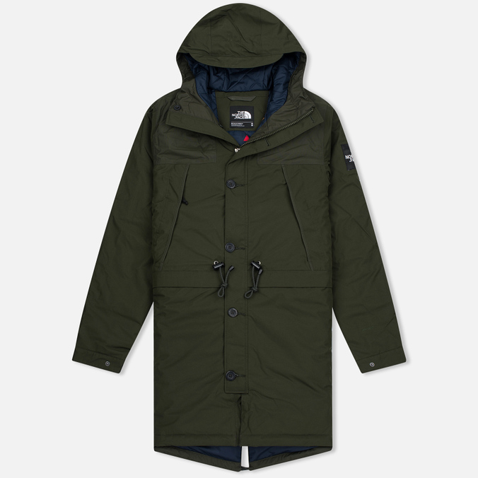 Мужская куртка парка The North Face Mountain Rosin Green