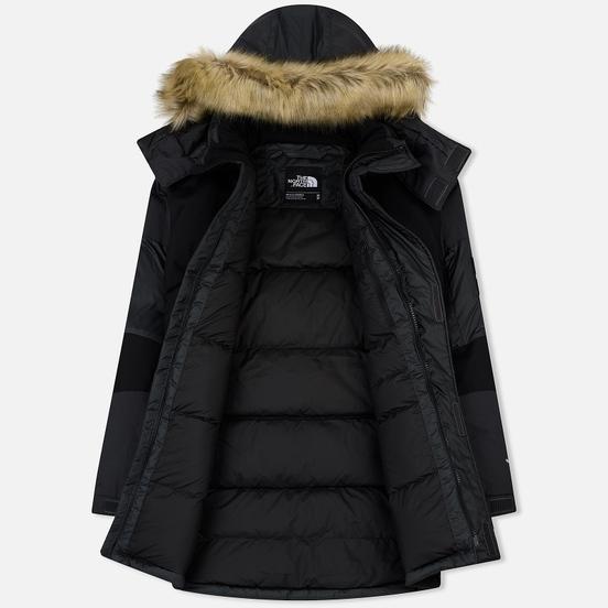 Мужская куртка парка The North Face Vostok Asphalt Grey/TNF Black