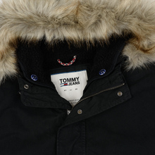Мужская куртка парка Tommy Jeans Cotton Lined Black фото- 2