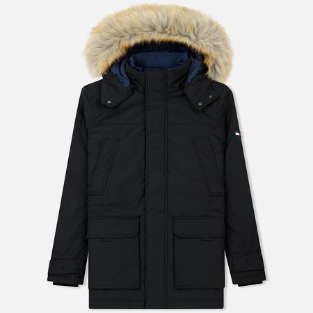 Мужская куртка парка Tommy Jeans Technical Black