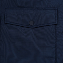 Мужская куртка парка Tommy Jeans Trimmed Hood Technical Black Iris фото- 6