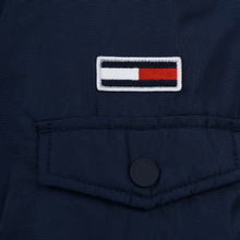 Мужская куртка парка Tommy Jeans Trimmed Hood Technical Black Iris фото- 4