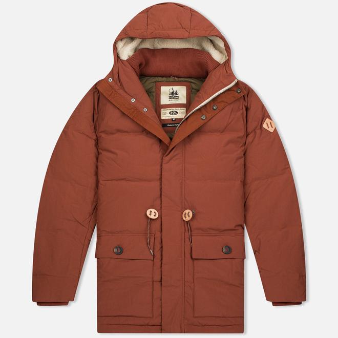 Мужская куртка парка Uniformes Generale Janssen Real Down Expedition Burnt Orange