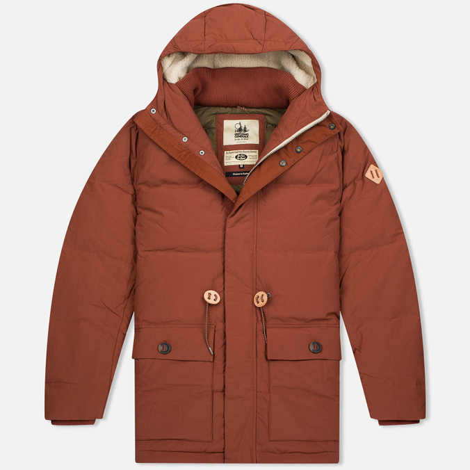 Uniformes Generale Janssen Real Down Expedition Men's Parka Burnt Orange