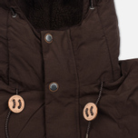 Мужская куртка парка Uniformes Generale Janssen Real Down Expedition Choc Brown фото- 4