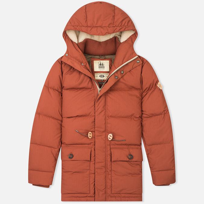 Uniformes Generale Ranulph Real Down Men's Padded Jacket Burnt Orange