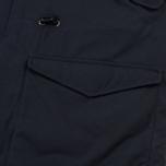 Мужская куртка парка Universal Works Insulated British Mill Hobnail Navy фото- 4