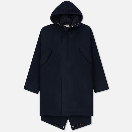 Мужская куртка парка Universal Works Insulated Mowbray Navy
