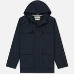 Мужская куртка парка Universal Works Military Workshirt Short Cotton/Nylon Navy фото- 0