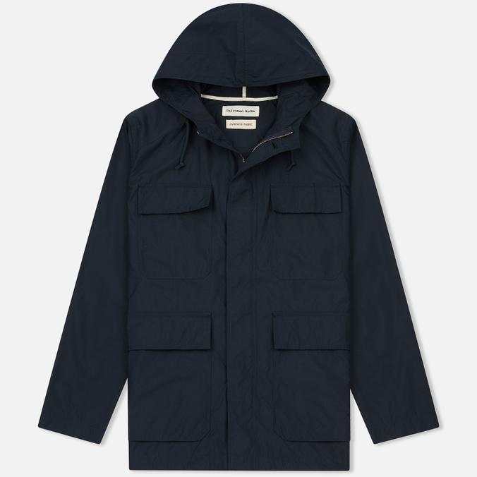 Мужская куртка парка Universal Works Military Workshirt Short Cotton/Nylon Navy