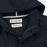 Мужская куртка парка Universal Works Military Workshirt Short Cotton/Nylon Navy фото- 1