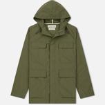 Мужская куртка парка Universal Works Military Workshirt Short Cotton/Nylon Olive фото- 0