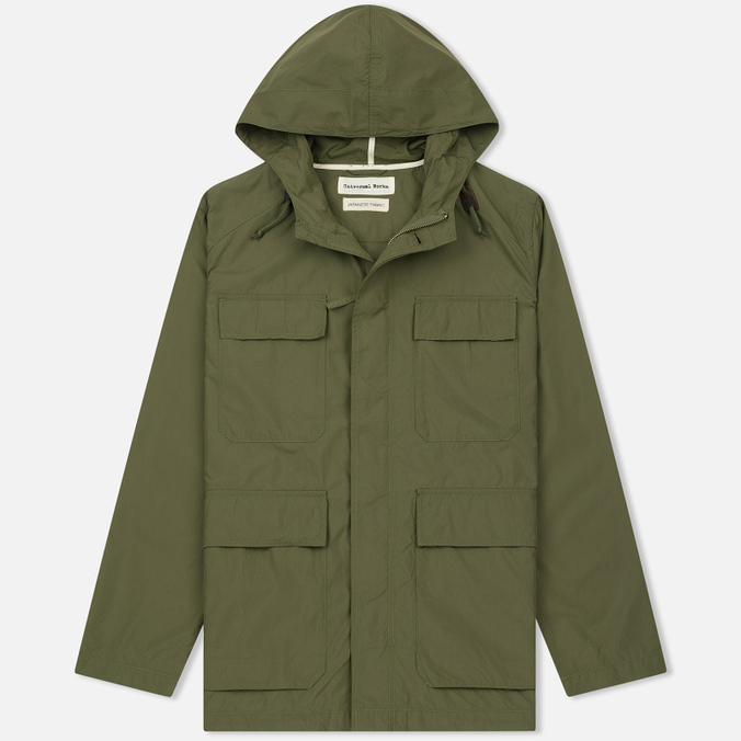 Мужская куртка парка Universal Works Military Workshirt Short Cotton/Nylon Olive