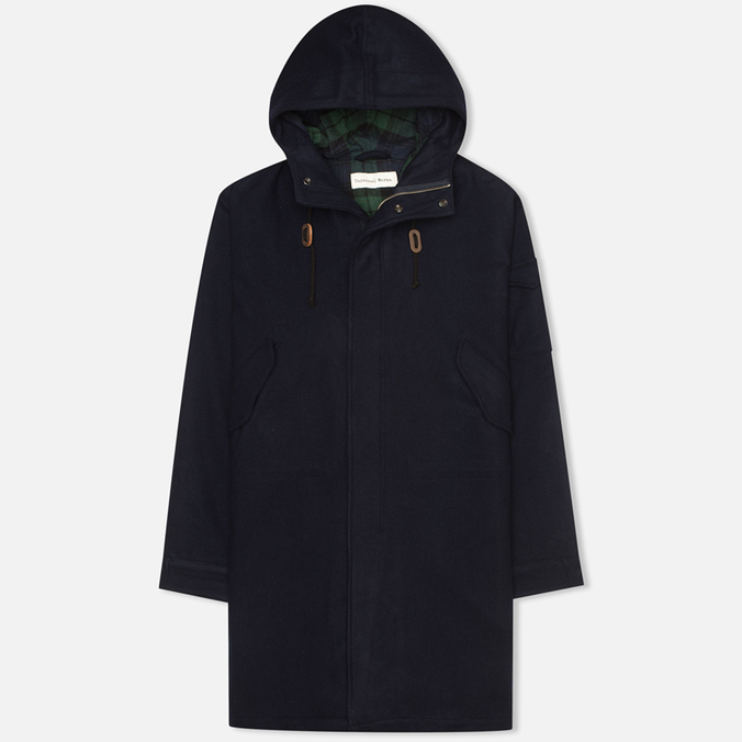 Мужская куртка парка Universal Works Monty Navy Mowbray