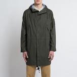 Мужская куртка парка Universal Works Olmetex Ripstop Olive фото- 8