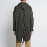Мужская куртка парка Universal Works Olmetex Ripstop Olive фото- 9
