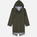 Мужская куртка парка Universal Works Olmetex Ripstop Olive фото- 0