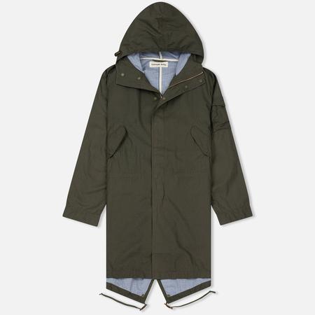 Мужская куртка парка Universal Works Olmetex Ripstop Olive