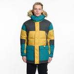 Мужская куртка парка The North Face Vostok Leopard Yellow фото- 6