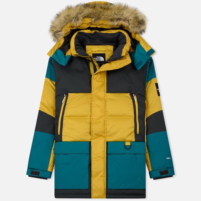 Мужская куртка парка The North Face Vostok Leopard Yellow