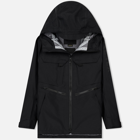 Мужская куртка парка White Mountaineering Gore-Tex Nylon Taffeta 3L Mountain Black