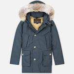 Мужская куртка парка Woolrich Arctic DF Blue Grey фото- 0