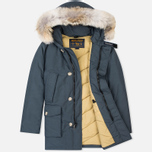 Мужская куртка парка Woolrich Arctic DF Blue Grey фото- 1