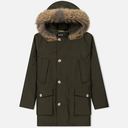 Мужская куртка парка Woolrich Arctic DF Dark Green