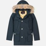 Мужская куртка парка Woolrich Arctic DF Dark Navy фото- 0