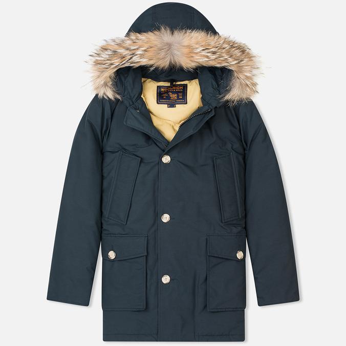 Мужская куртка парка Woolrich Arctic DF Dark Navy