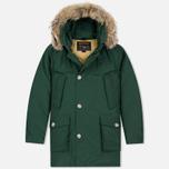 Мужская куртка парка Woolrich Arctic DF Green фото- 0