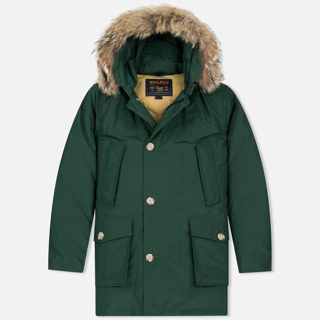 Мужская куртка парка Woolrich Arctic DF Green