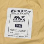Мужская куртка парка Woolrich Arctic DF Green фото- 4