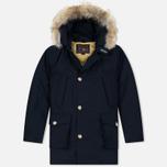 Мужская куртка парка Woolrich Arctic DF Melton Blue фото- 0