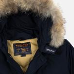 Мужская куртка парка Woolrich Arctic DF Melton Blue фото- 1