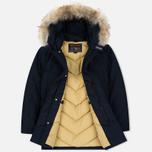 Мужская куртка парка Woolrich Arctic DF Melton Blue фото- 2