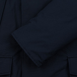 Мужская куртка парка Woolrich Arctic DF Melton Blue фото- 3