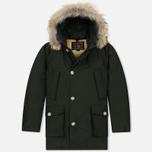 Мужская куртка парка Woolrich Arctic DF Rosin Green фото- 0