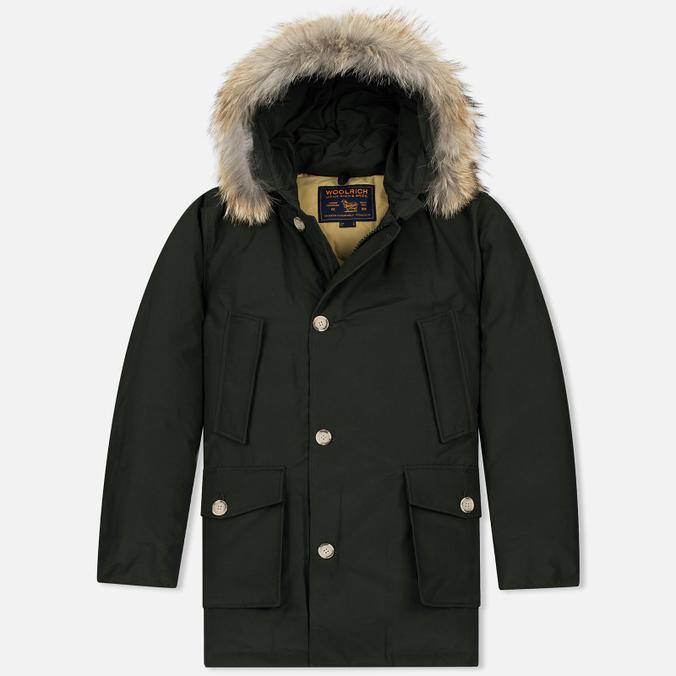 Мужская куртка парка Woolrich Arctic DF Rosin Green