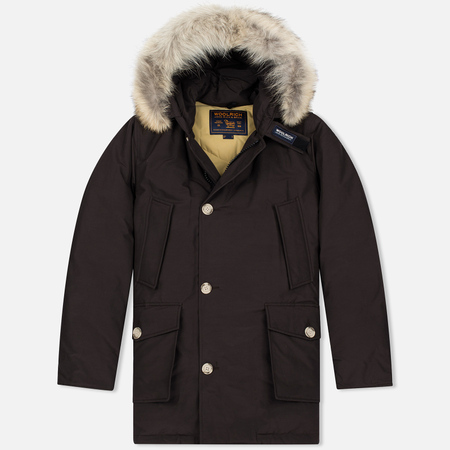 Мужская куртка парка Woolrich Arctic DF Wood Brown