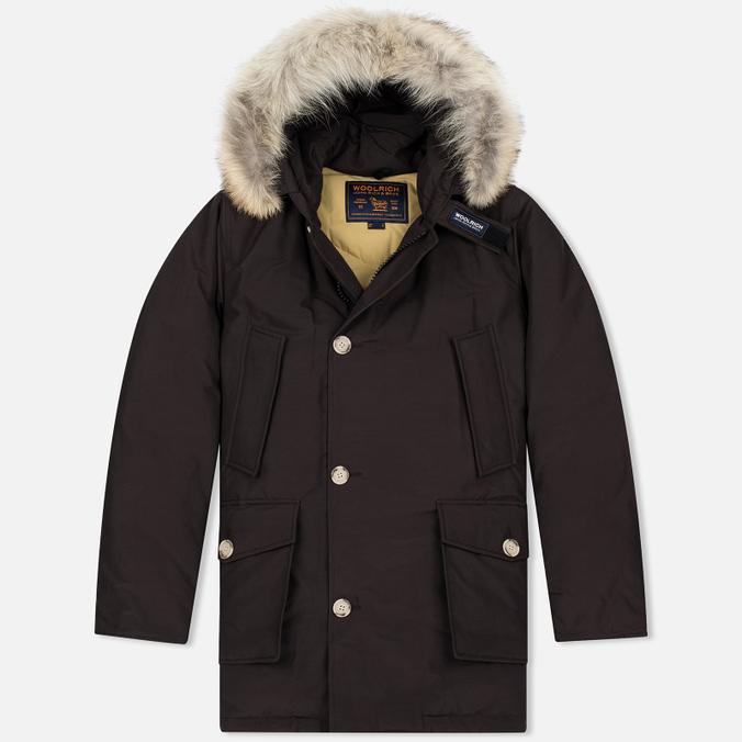 Мужская куртка парка Woolrich Arctic DF Wood Brown