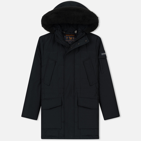 Мужская куртка парка Woolrich Blizzard DH Dark Navy