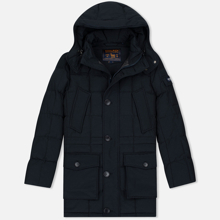 Woolrich Blizzard NF Men's Parka Dark Navy