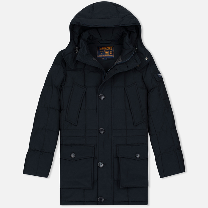 Мужская куртка парка Woolrich Blizzard NF Dark Navy