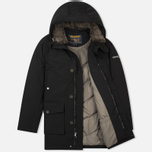 Мужская куртка парка Woolrich Long Mackinaw Black фото- 1